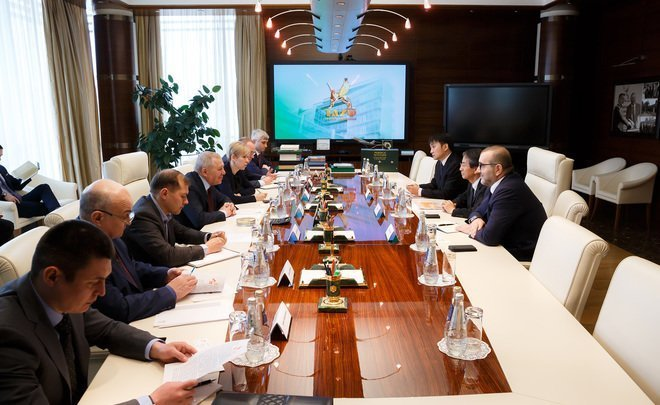 First meeting – four ideas: TAIF Group and SK Engineering & Construction preparing for cooperation