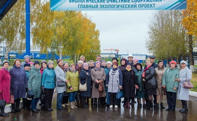Doors Open Day: Nizhnekamskneftekhim veterans visit upgraded BTF