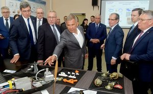 Minnikhanov to Gilmutdinov: ''St. Petersburg Polytechnic University implements its developments, but you're only telling tall tales''