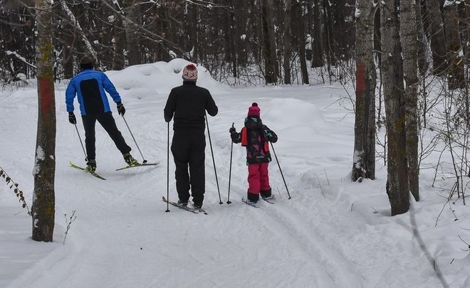 Tatarstan residents put on skis with the coming of snow. For how long?