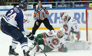Ak Bars' five-minute failure in Nizhny Novgorod