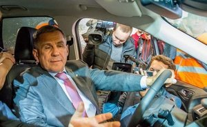 Rustam Minnikhanov: ''It's very prestigious if the car is manufactured in our republic''