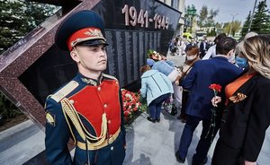 Memory Day at Kazanorgsintez: floral tributes to memorial to Great Patriotic War veterans
