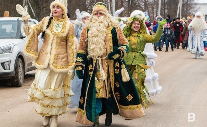 How Tol Babay, Ural Moroz, Santa Claus and other magicians congratulate Kysh Babay