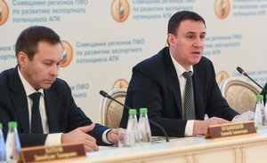 Dmitry Patrushev: ''Agricultural exports can't be raised to $45bn without regions''