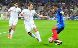 National team of Russia: mess and spectacle at Stade de France
