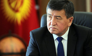 ''Sooronbay Jeenbekov is a typical official, who found himself as president of Kyrgyzstan''
