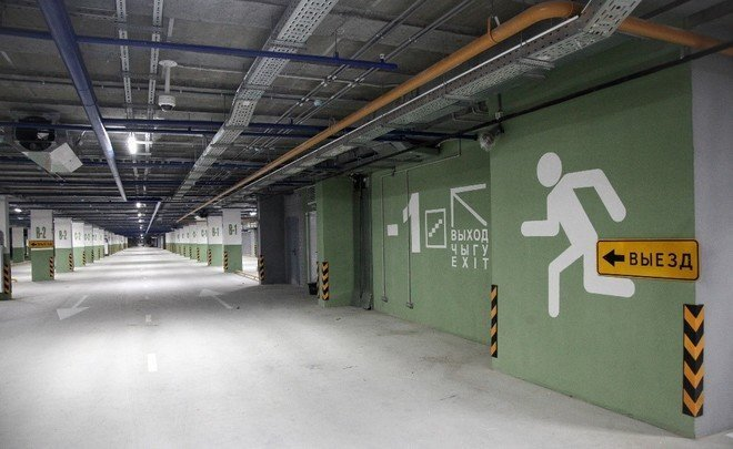Free parking space, ice-free ramps, eco-roof and e-car charging points
