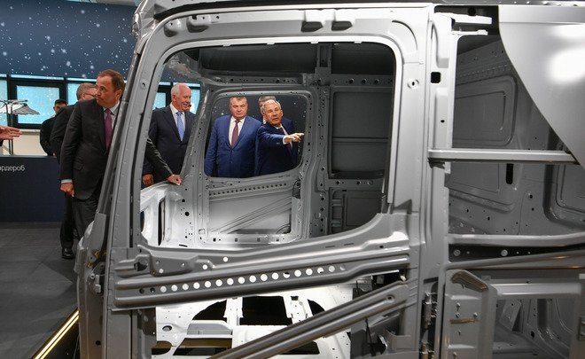 """The situation in the world is unclear, but our relationship is clear"": KAMAZ and Daimler open a plant worth 200 million euros"