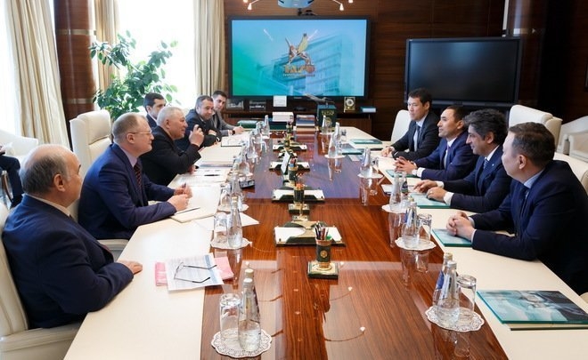 BI Group, the construction leader of Kazakhstan, to open a branch in Tatarstan and plans to work with TAIF