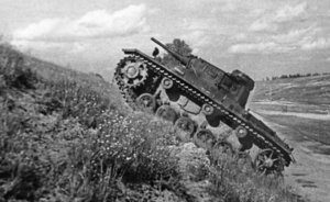 Main Wehrmacht's tank became bogged down near Kazan, and Tiger I and Panther tanks were repaired at Kazan plant