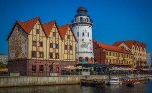 Kaliningrad: sea of sightseeing points, expensive taxi and flat for 100K per night