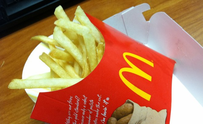 Russian McDonald's to make fries from homegrown potatoes