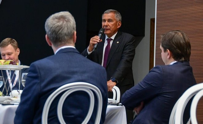 "Rustam Minnikhanov: ""There are projects worth 4-5 trillion in Tatarstan, we can use them"""
