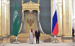 Meeting with king: Rustam Minnikhanov participated in Russian-Saudi Arabian negotiations