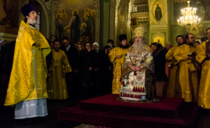 Christmas in Kazan: revival of traditions in Annunciation Cathedral and queue for Communion