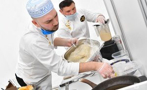 Don't look at it on an empty stomach! How chefs compete in Kazan