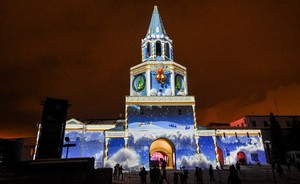 3D mapping again: Kazan Kremlin's New Year transformations