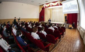 600 new jobs: petrochemists present the project of the olefin complex to students